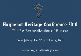 The Why of Evangelism | Steve Jeffery