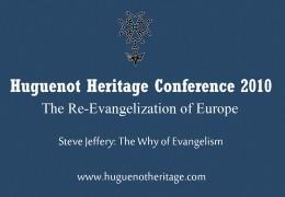 The Why of Evangelism | Steve Jeffery