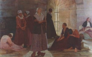 Marie Durand in the Tour de Constance prison