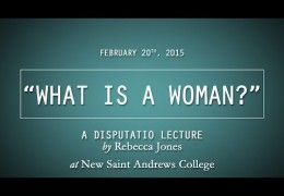 """What is a Woman?"" 