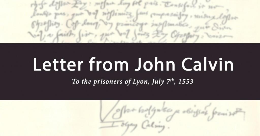 calvin letter